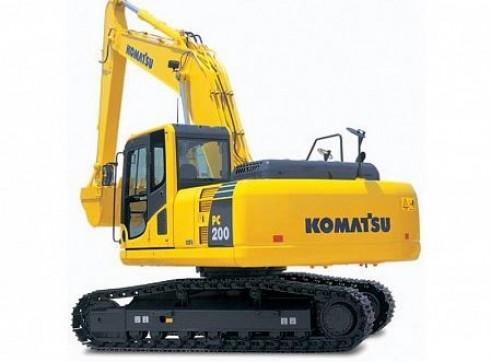 20T Komatsu PC200LC-8 Excavator