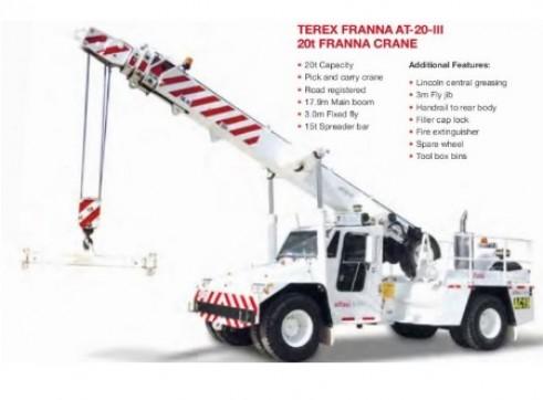 20T Terex AT20 Franna Crane 2