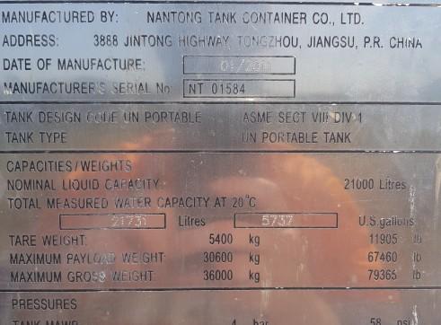 21,000L ISO Tank 6