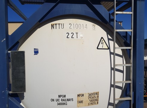 21,000L ISO Tank 9