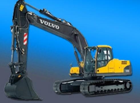 21.0 Ton Volvo Excavator