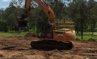21T Case Excavator w/GPS 1