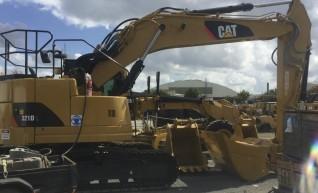 21T Caterpillar Excavator 1