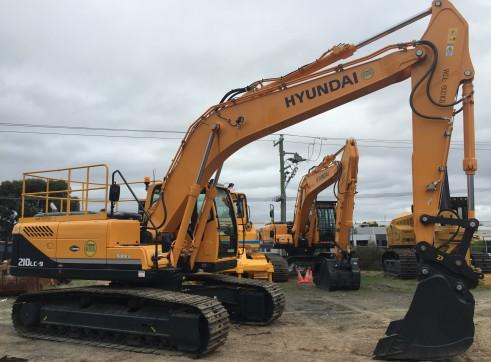 21T Excavator Hyundai R210LC-9