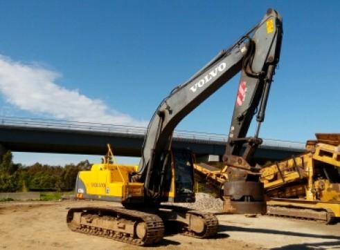 21T Volvo Excavator 1