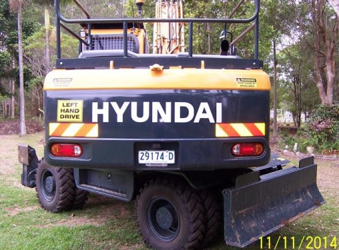 21T Wheeled Excavator 3