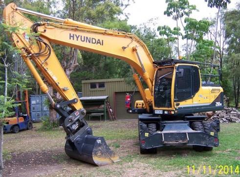 21T Wheeled Excavator 4