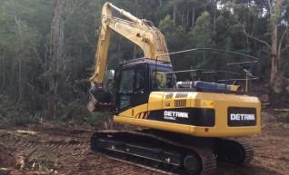 22 Tonne Excavator 1