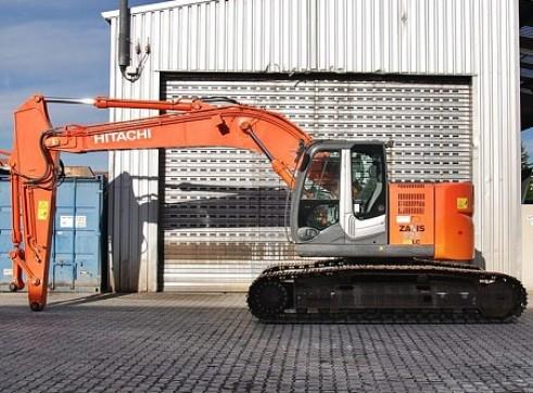 22T Hitachi Tracked Excavators Zero Slew