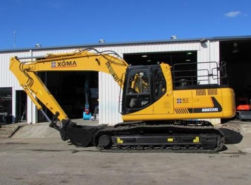 22T XG822EL Excavator 1