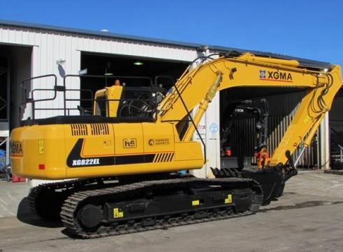 22T XG822EL Excavator 2