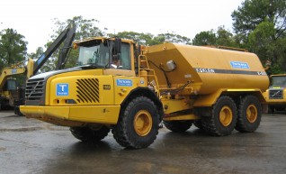 23,000 Lt Volvo A25D Water Truck - 2 Available 1