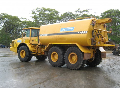 23,000 Lt Volvo A25D Water Truck - 3 Available 2