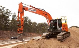 23 ton excavator with GPS 1