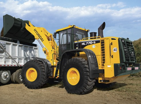 23 Tonne Hyundai HL770-9 Wheel Loader
