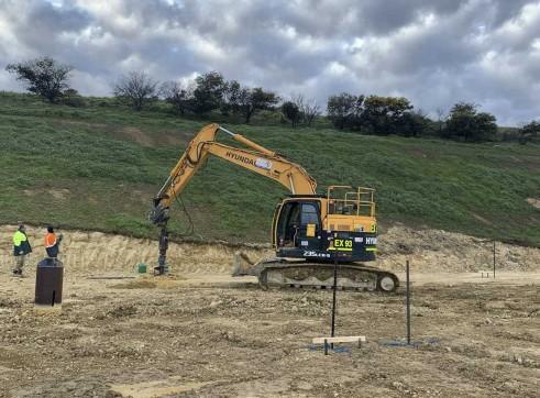 23.5T Hyundai R235 Zero Swing Excavator