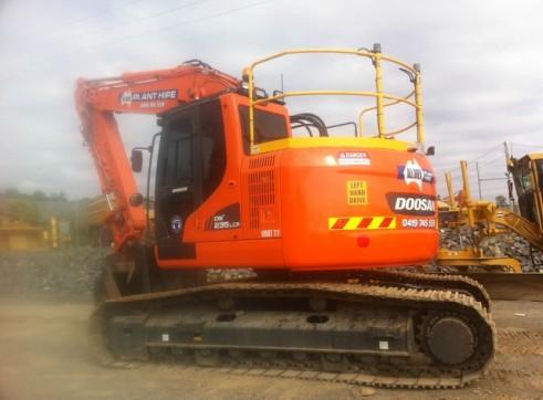 24T reduced tail swing Excavator full BMA spec trimble GPS 1