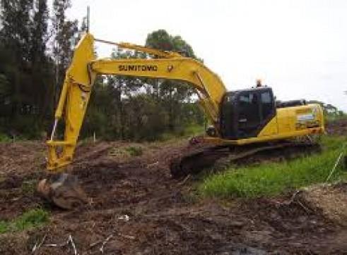 24T Tracked Excavators x10