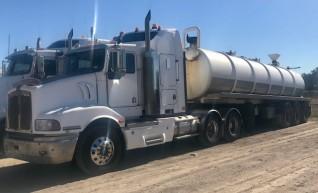 25,000L Semi Vacuum tanker 1