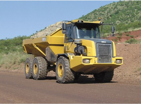 25T Articulated Dump Truck 1