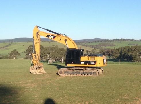 25T Caterpillar 324DL Excavator 2