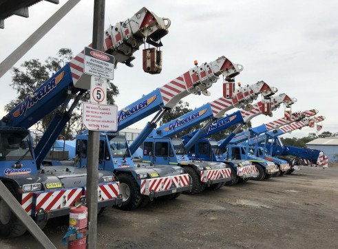 25T Franna Crane w/Superlift 3