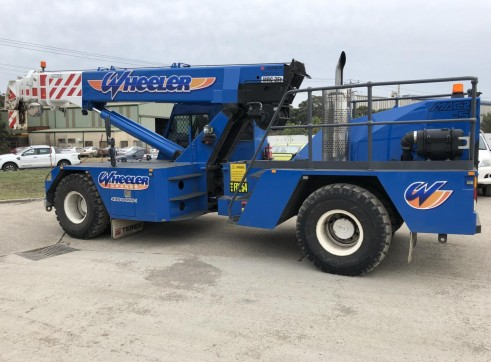 25T Franna Crane w/Superlift 2