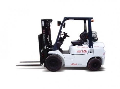 2.5T Gas Forklift 1
