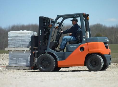 2.5T Standard Manitou Forklift 1