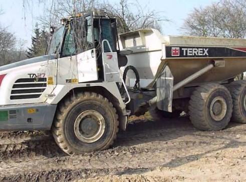 30T Terex TA27 Articulated Dump Truck 2