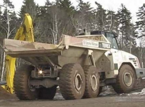 30T Terex TA27 Articulated Dump Truck 4