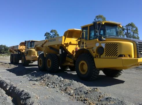 25T Volvo A25D Articulated Dump Trucks 2