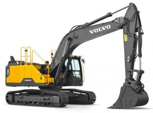 25T Volvo Excavator 1