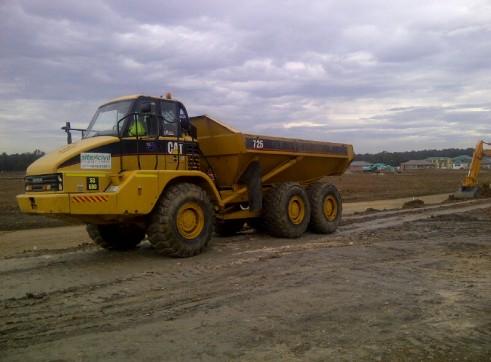 25Tonne Artic Dump Truck 1