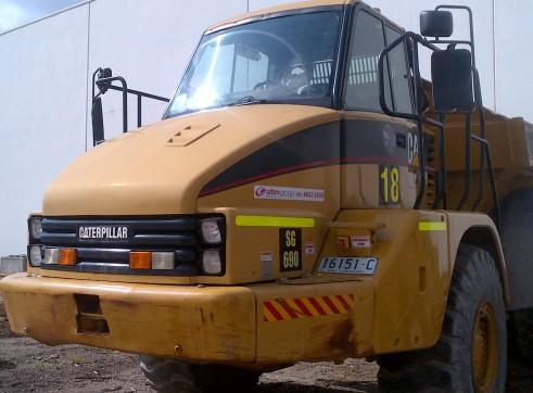 25Tonne Artic Dump Truck 2