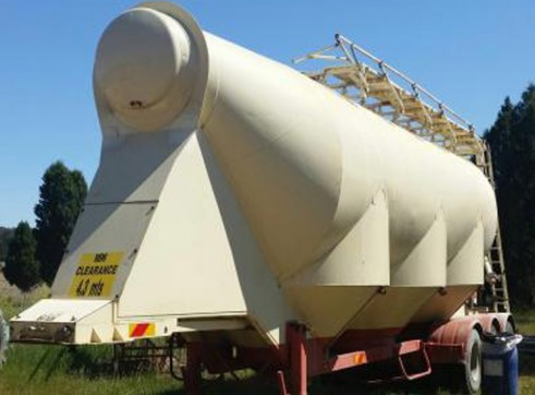 26-36T Lime Storage Tankers 1