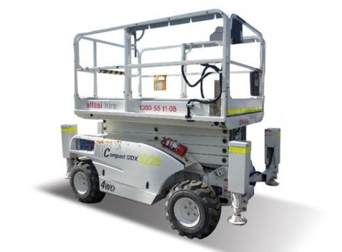 26 Diesel Rough Terrain Scissor Lift 2