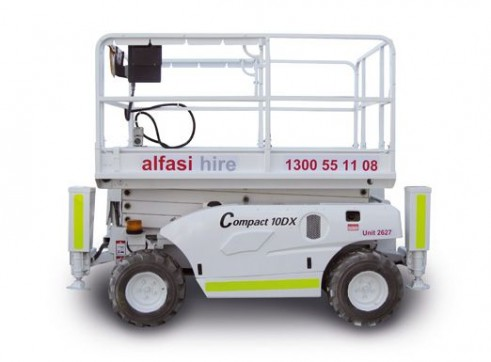 26 Diesel Rough Terrain Scissor Lift 3