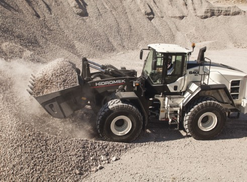 27T Hidromek HMK 640 Wheel Loader