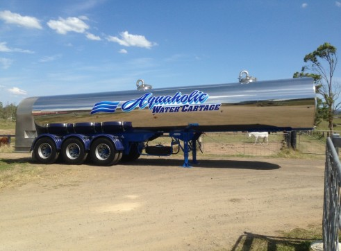 28,000L Potable Water Tanker x 4 1