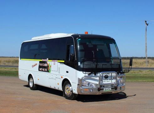 28-57 Seat Bus /Mine Coaches