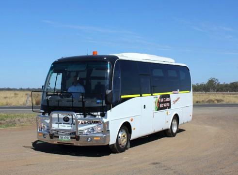 28 Seat Mine Spec Mini Bus