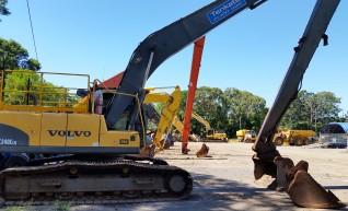 28T Volvo EC240CL Long Reach Excavator - 18.5m reach 1