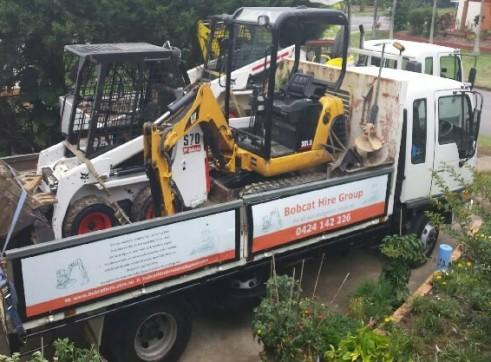 2T Excavator & S70 Skid-Steer Mini Combo  1