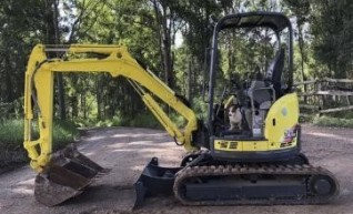 2T Yanmar Mini Excavator 1