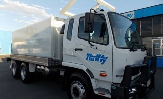 2WD 12,000litre Water Truck,  1