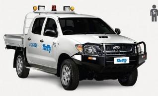 2WD Dual Cab Tray Ute, manual  1