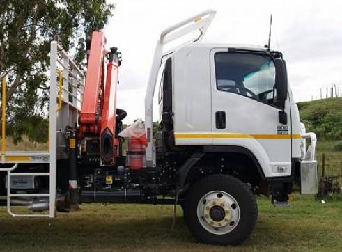 2WD Single Cab 3.0 Metre Tray Truck, manual             1