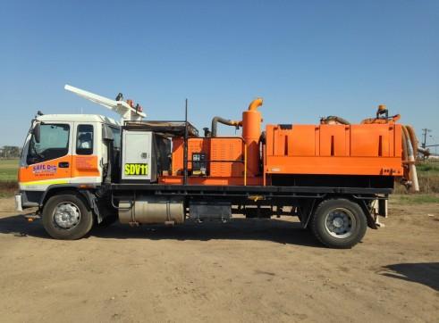 3,000L Vacuum Excavation Trucks 1