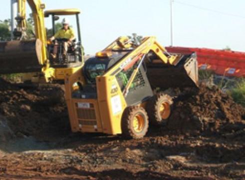 3-4T Excavator & Bobcat Combo 1